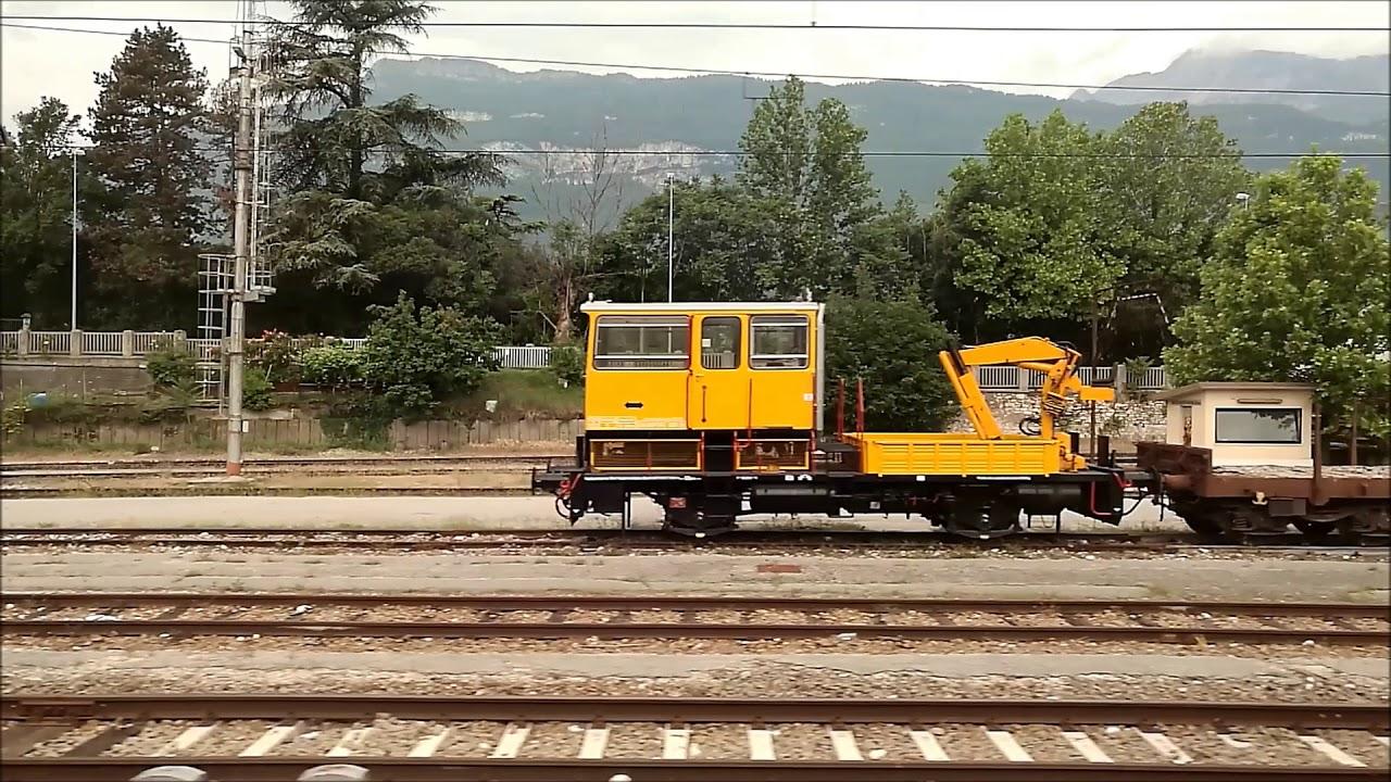 EC 88 DB-ÖBB EuroCity Train Verona Italy to Munich Germany ...