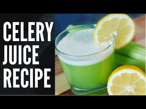 HOW TO MAKE THE WORLD BEST CELERY JUICE RECIPE BY | Chef Ricardo Cooking