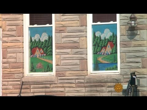 Baltimore's painted screens