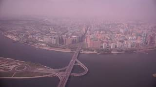 NORTH KOREA | PYONGYANG FROM THE AIR