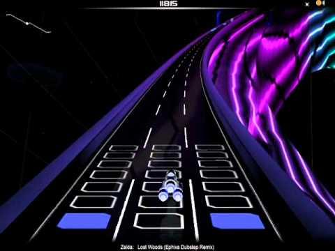 Audiosurf Gameplay: Lost Woods Dubstep...