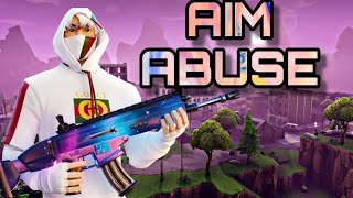 FORTNITE STRIKE PACK FPS DOMINATOR AIM ABUSE THIS IS WHY YOU SHOULD USE LEGACY (PS4, XBOX ONE)