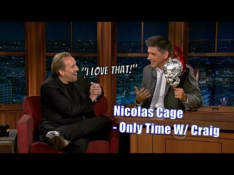 Nicolas Cage  Geoff's Indirect Father  Only Time With Craig Ferguson