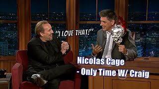 Nicolas Cage - Geoff's Indirect Father - Only Time With Craig Ferguson