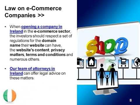 Open an e-Commerce Company in Ireland