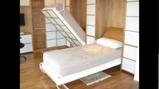 Кровати трансформеры  своими руками.(Наши квартиры иногда не позволяют иметь громоздкую мебель. Кровати трансформеры это выход из положения..., 2015-11-04T18:24:51.000Z)