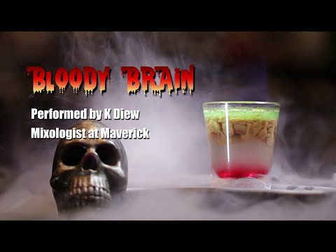 Passion food Network : Bloody Brain Shot