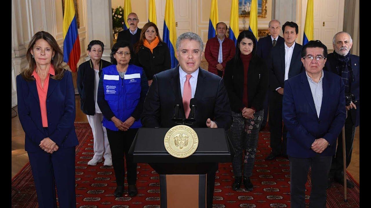 Alocución del Señor Presidente de la República Iván Duque Márquez ...