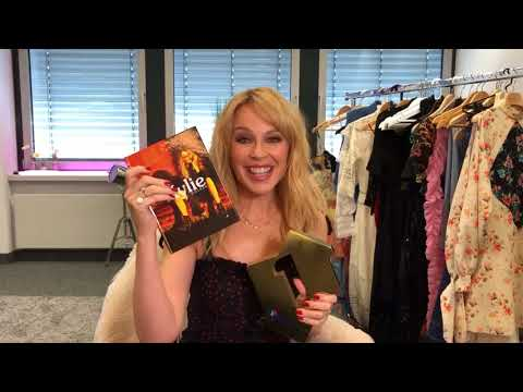 Kylie Minogue celebrates Golden debuting at Number 1 on the Official Albums Chart