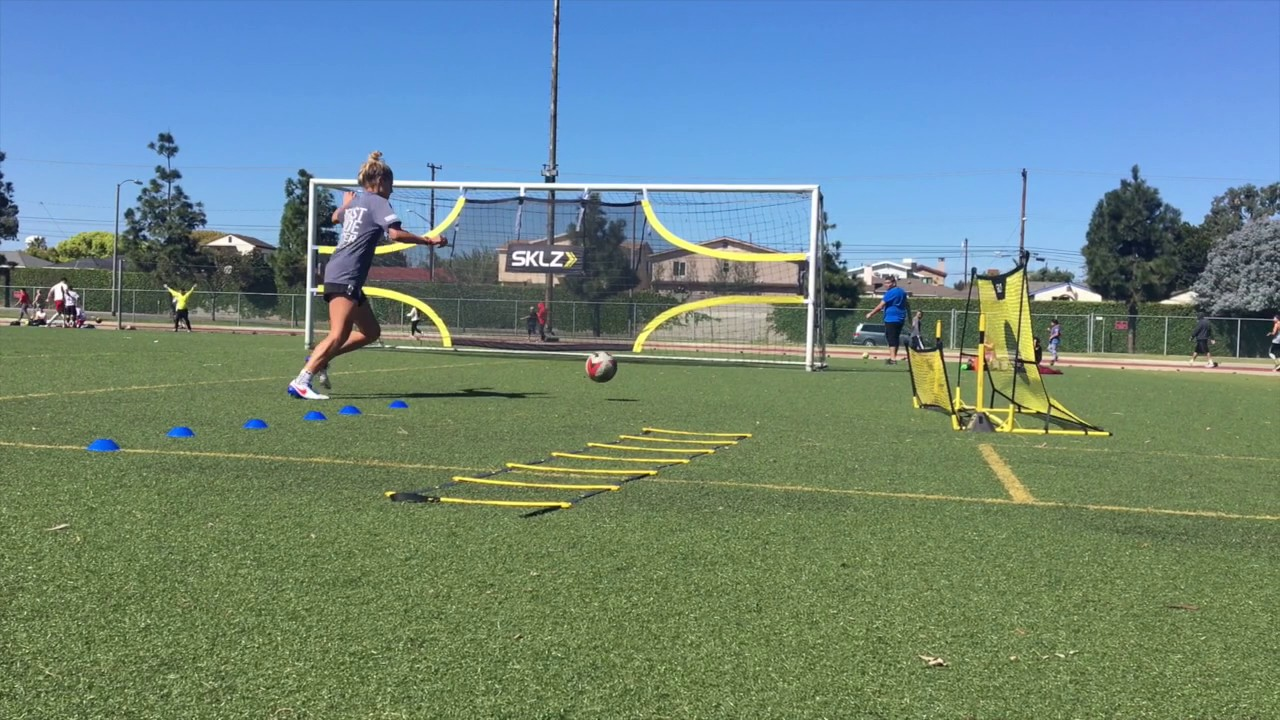 91c688f35 How To : Score More Goals in Soccer - Master Your Shot w/SKLZ Goalshot