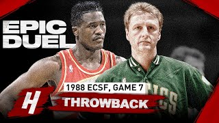 A DUEL FOR THE AGES! Larry Bird vs Dominique Wilkins EPIC Game 7 Highlights | 1988 NBA Playoffs