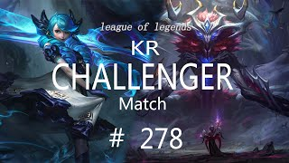 Korea Challenger Match #278/LO…