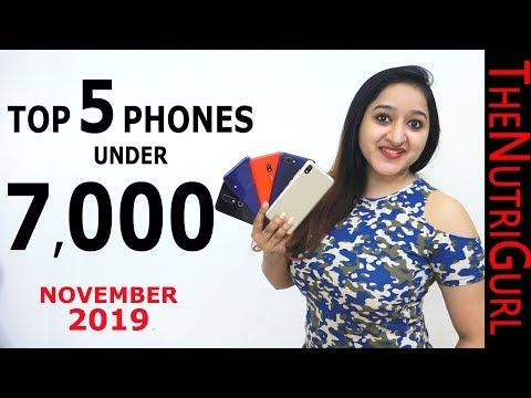 Top 5 Phones Under 7000 IN NOVEMBER 2019