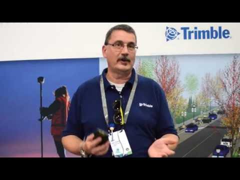 Trimble discusses TDC100 handheld data collector, R1 and R2 receivers at Esri UC