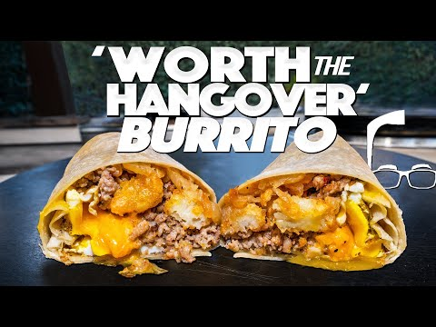 MAKING MY NEW BREAKFAST BURRITO – IT'S 'WORTH THE HANGOVER'! | SAM THE COOKING GUY