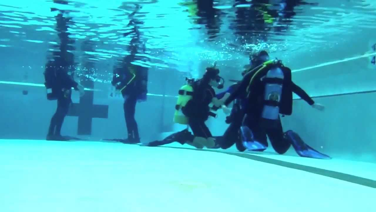 Scuba Class with Oceanic Ventures in Houston, TX - YouTube