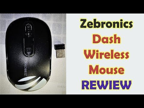 Zebronics Dash Wireless Optical Mouse Review | Som Tips