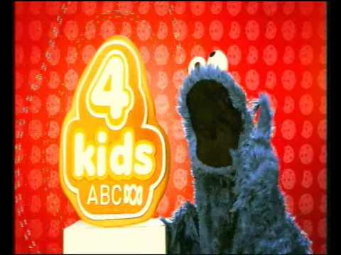 (former) ABC 4 Kids Ident - Cookie Monster