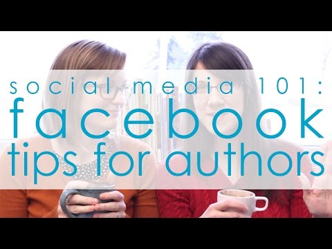 {SM101} Facebook Tips for Authors