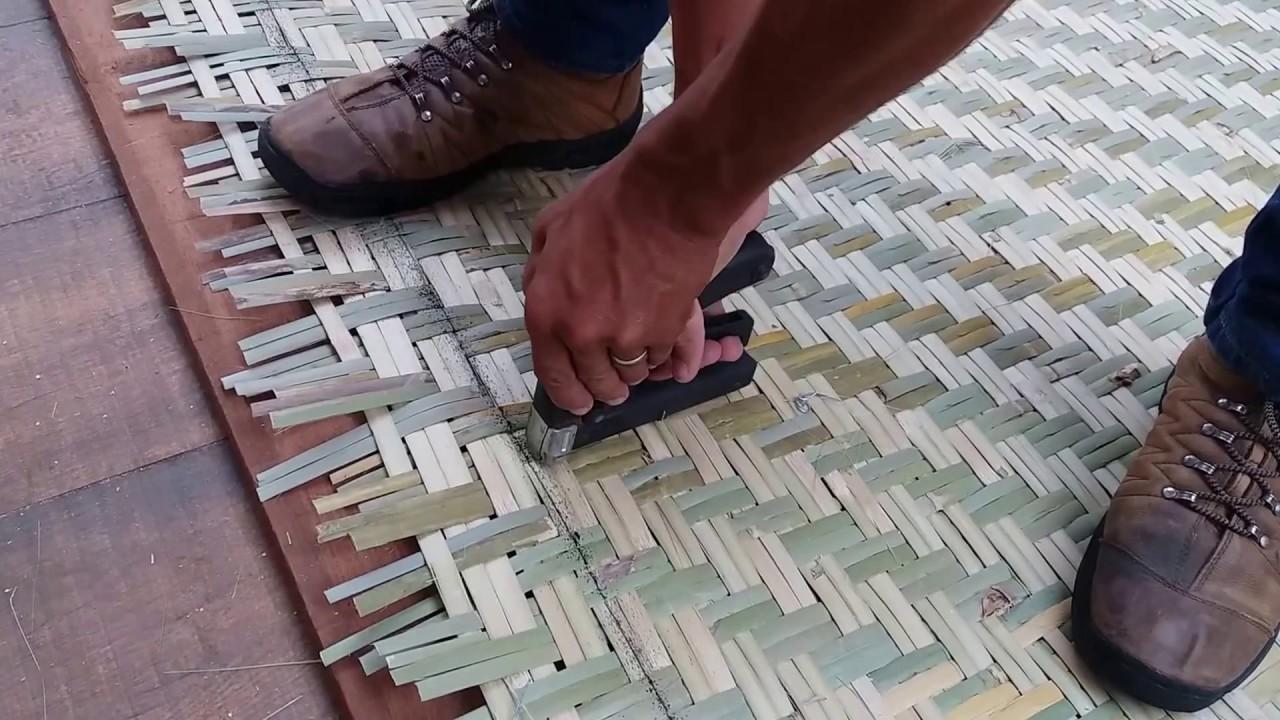 Muitas vezes pergolado de madeira forrado com esteira de bambu=2 - YouTube HZ49