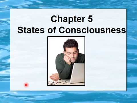 PSY1012 - States of Consciousness