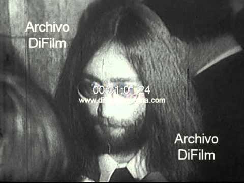 DiFilm - John Lennon y Yoko Ono con Pierre Trudeau 1969