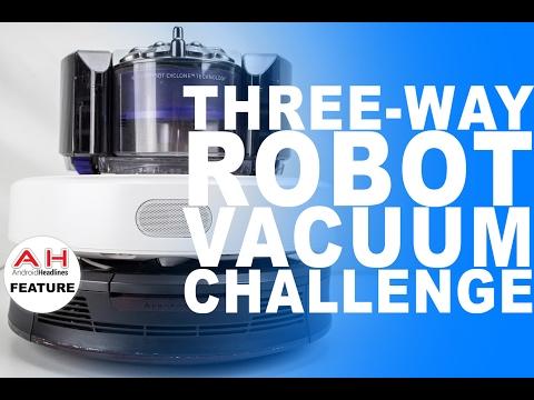Vacuum Wars - Dyson 360 Eye vs iRobot Roomba 980 vs Xiaomi Mi Robot Vacuum