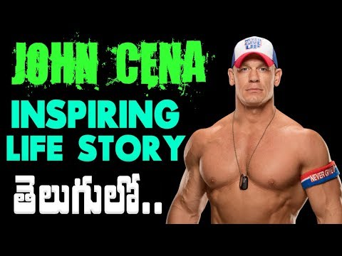 John Cena Real Life Story in Telugu | Unknown Facts about John Cena | WWE Superstar