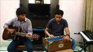 Hothon se chu lo tum Guitar & Harmonium cover