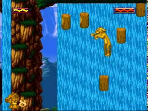 Image result for The Lion King Video Game Waterfall