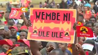 Rais aongoza kampeni Kiambu na Murang'a