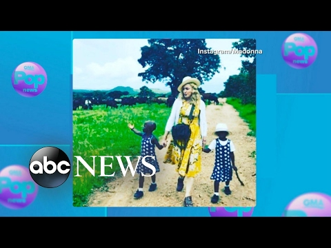 Madonna Adopts Twins From Malawi