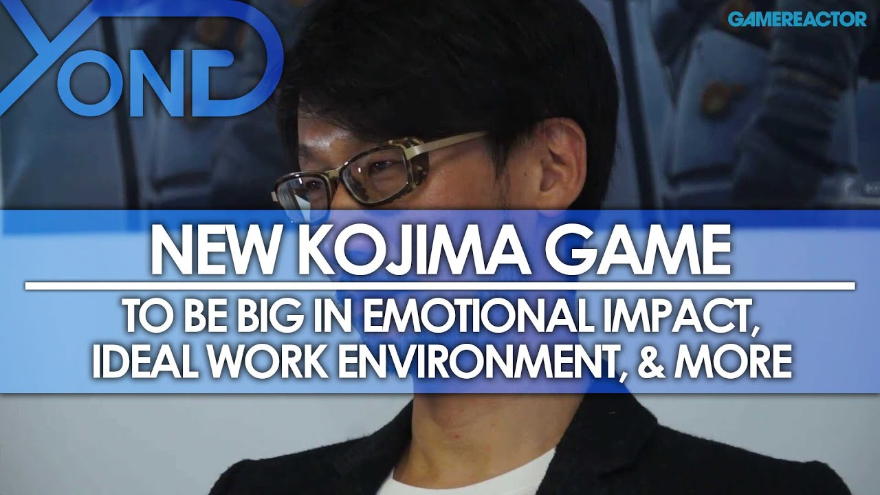 new kojima game to be big in emotional impact ideal work new kojima game to be big in emotional impact ideal work environment more