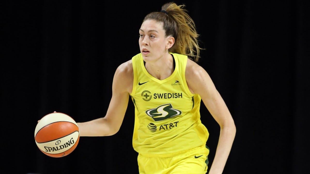 Breanna Stewart Registers 21 Points & 9 Rebounds (August 1, 2020) - YouTube