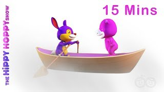 Row Row Row Your Boat & More - Nursery Rhymes Collection For Kids