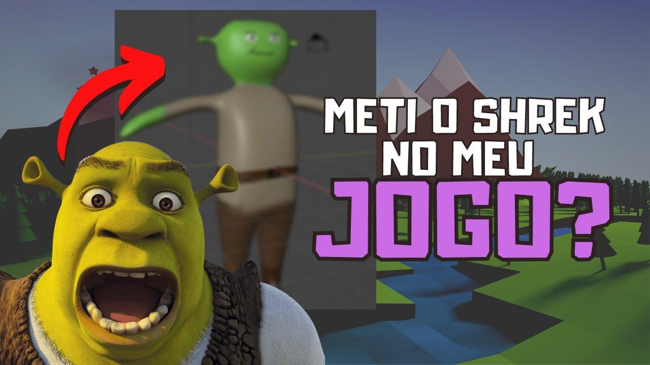 Meti o SHREK no JOGO? - Projeto Mike: Ep2 - YouTube