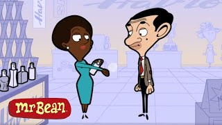 Bean SHOPPING on CYBER WEEKEND | Mr Bean Comedy Cartoon
