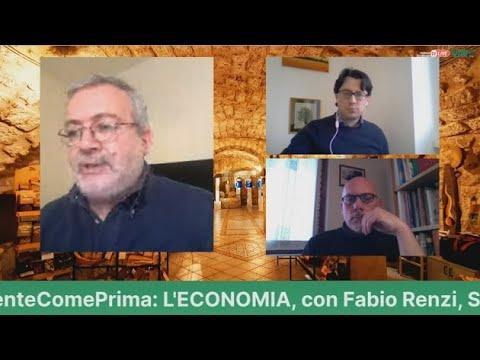 """Niente come prima: """"l'economia"""", conversazione con Fabio Renzi"""