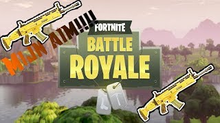 Fortnite Battle Royale (Mon but est tout le heave!!!)