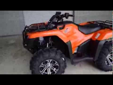 2014 Rancher 420 Itp Hd Wheels Amp Mudlite 26 Quot Tires Honda