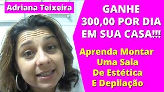 Curso de Estética Corporal Completo e Depilação Adriana PDF DOWNLOAD E-BOOK