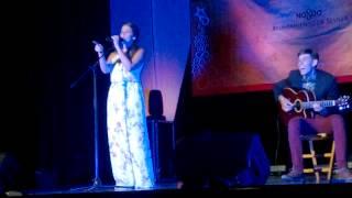 Anabel Boceta en su primera gala de Operacion Talento 2014