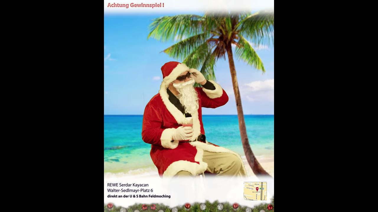 Weihnachtsgewinnspiel REWE Kayacan OHG   Der Weinachtsmann macht Urlaub   Spot 5/7
