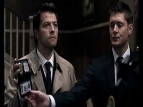 Supernatural- Castiel Und Dean FBI (Deutsch) - YouTube