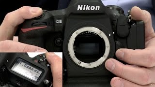 Nikon D5 shutter at 12fps for 100+ frames