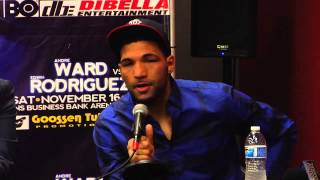 "Edwin Rodriguez: ""Ward-Golovkin is a good fight"""