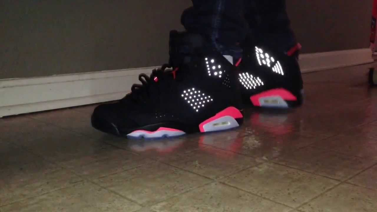 bfe1b080d0f3 Air Jordan 6 Black Infrared 2014