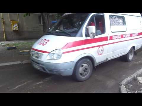 *Blue-Red-Blue Lightbar* Gazelle ambulance responding