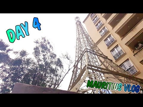 IT'S THE EIFFEL TOWER!!! - Mauritius Vlog Day 4