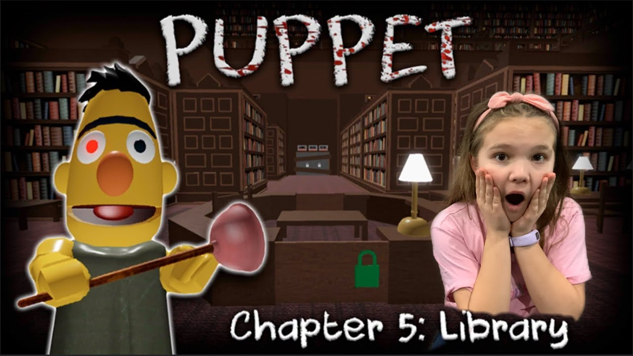 Roblox Puppet Chapter 5 Escape The Creepy Bert Puppet Youtube